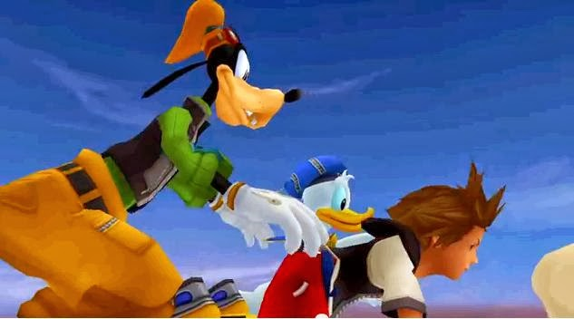 Watch kingdom heart trailer,its series of action role playing game,kingdom hearts trailer hd,Disney UK,animated movie
