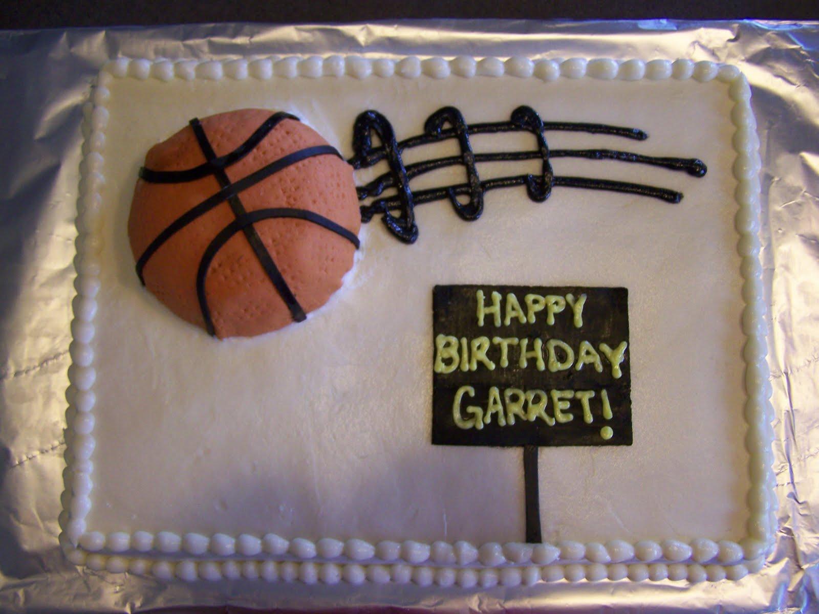Custom Basketball Birthday Cake Prices