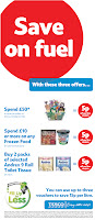 Tesco Supermarket Deals - Save on fuel when you spend £10-£50 in store, or buy 2 packs of selected Andrex 9, plus Double Clubcard points too!