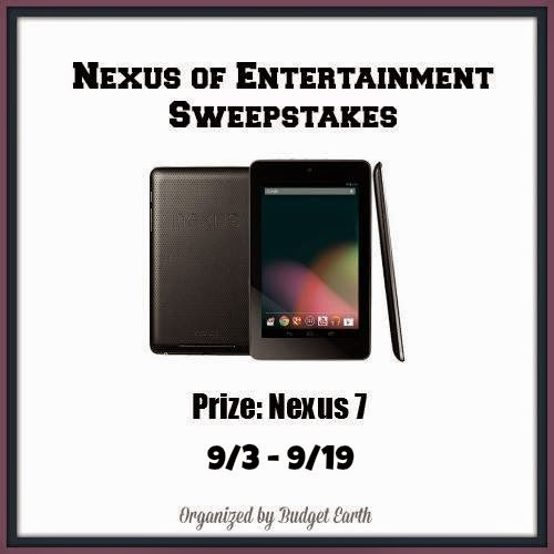 Enter the Nexus of Entertainment Sweepstakes. Ends 9/19.