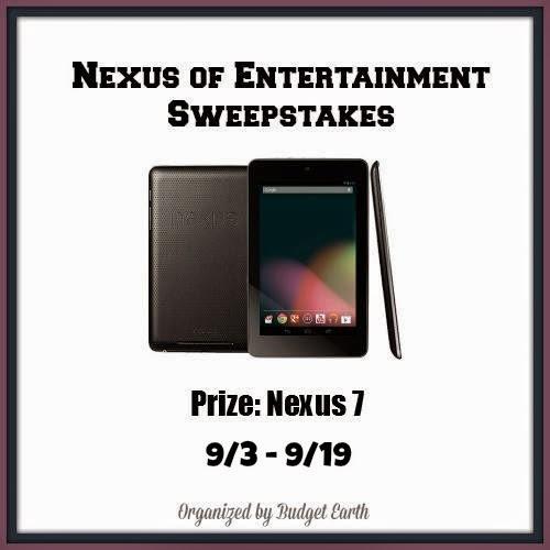Enter the Nexus of Entertainment Sweepstakes. Ends 9/19.