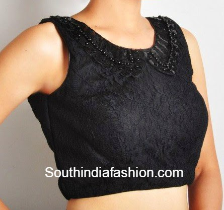collar neck blouse
