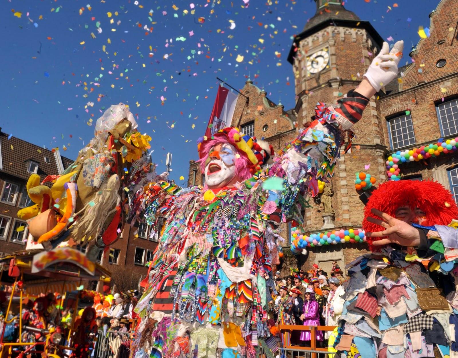 La grande festa al Carnevale di Colonia