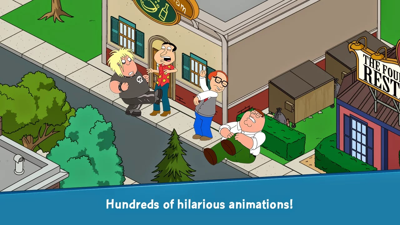 Family Guy The Quest for Stuff v1.0.12.1 Mod [Free Shopping]