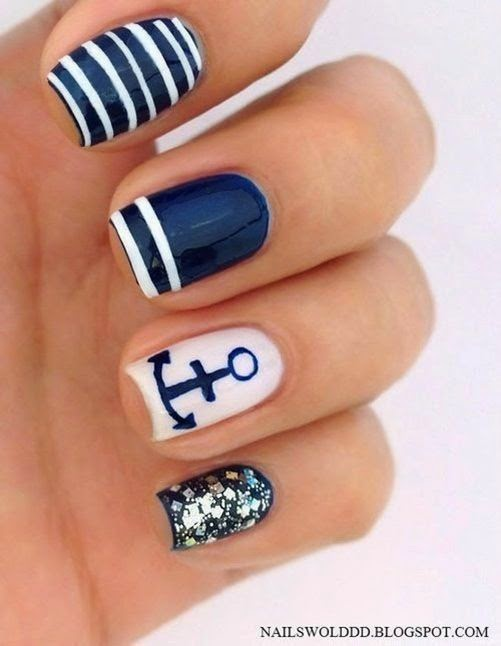 - Tribal Aztec Nail Designs