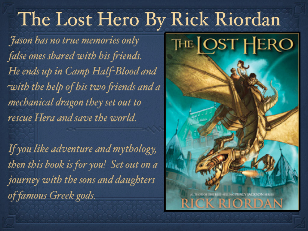 the theme of teamwork in the novel the lost hero by rick riordan