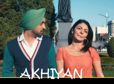 Akhiyan Lyrics - Jatt & Juliet 2 Movie | HD Video MP3