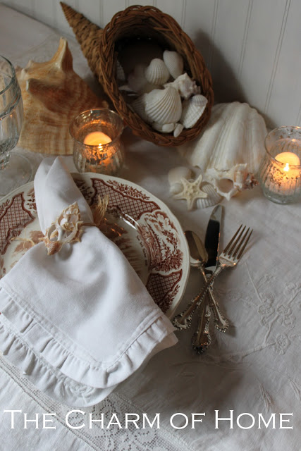 Coastal Thanksgiving Table: The Charm of Home