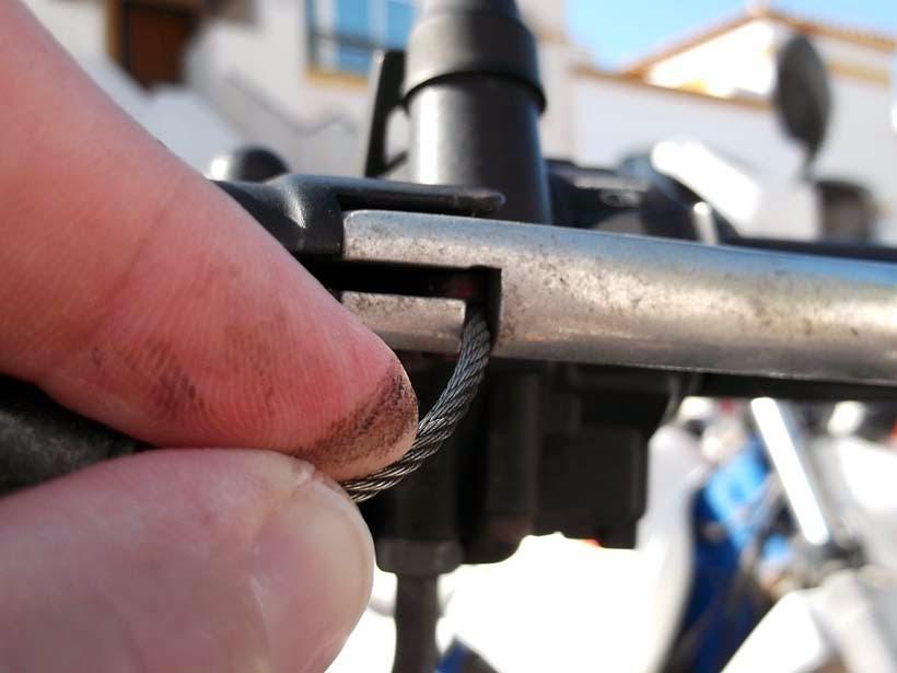 Cabeza del cable de embrague
