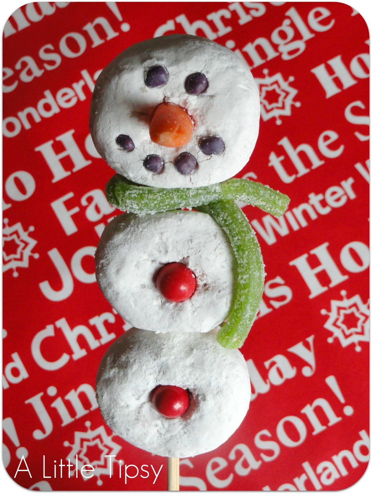 Donut Snowman on a Stick: Once There was a Snowman, Snowman, Snowman ...