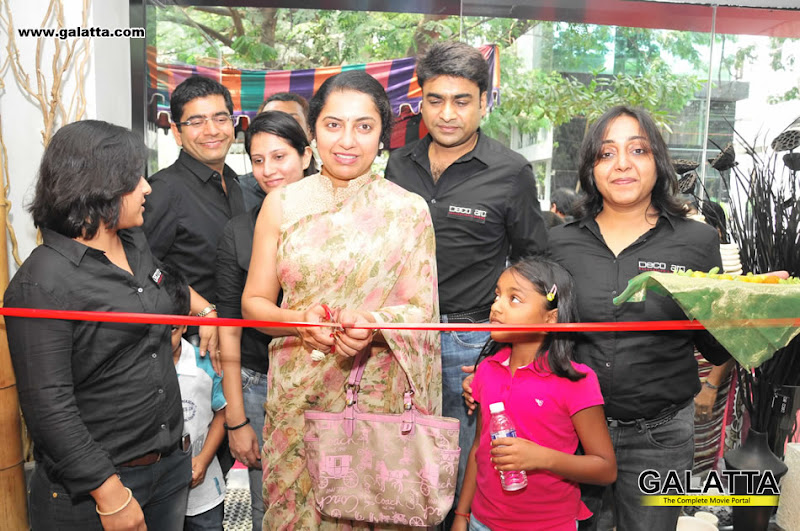 Suhasini at Launch of Deco aro at Khader Nawaz Khan Road navel show