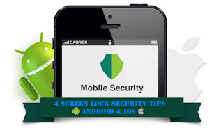 Android iOS screen lock security tips