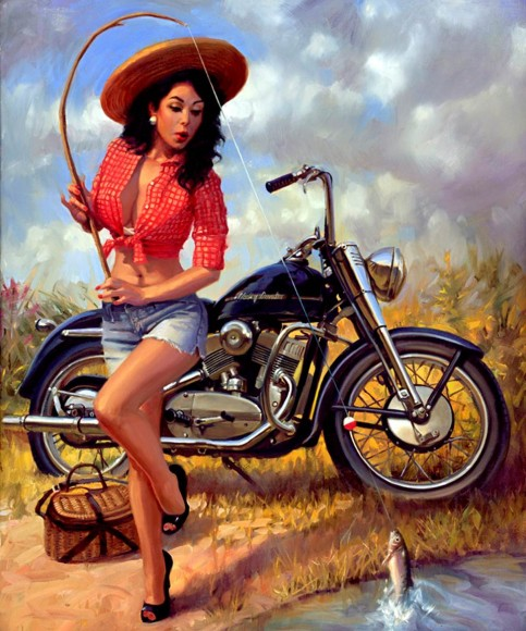 David Uhl  - The Woman of Harley Davidson, Catch of The Day