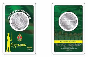 1 Dirham MTD 65 Tahun(MAKTAB TENTERA DIRAJA) - EXCLUSIVE LIMITED Edition (EDISI TERHAD & EKSKLUSIF)