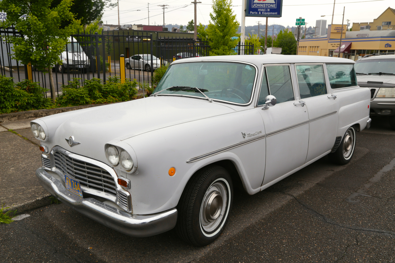 1970 Checker Marathon Wagon.