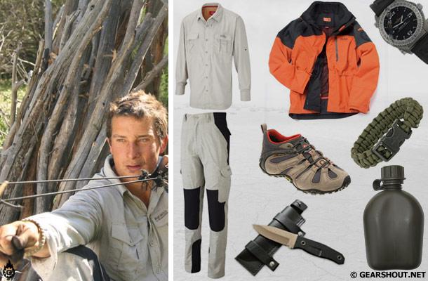 Куртка Bear Grylls Mountain Jacket - $150 Рубашка Craghoppers Bear Adventur