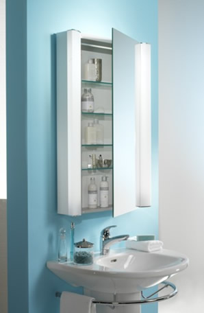HOW TO INSTALL A BATHROOM MIRROR WITH CABINETS | EHOW.COM