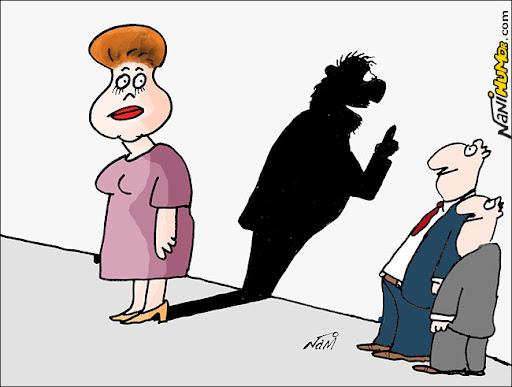 Dilma e Lula, o sombra