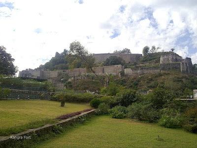 Front View, Kangra, Kangra Fort,
