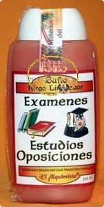 BAÑO DESPOJOS RITUAL EXÁMENES