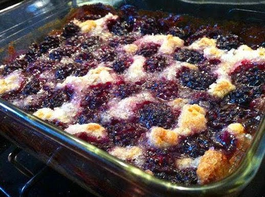Best recipes in world: Homemade Blackberry Cobbler
