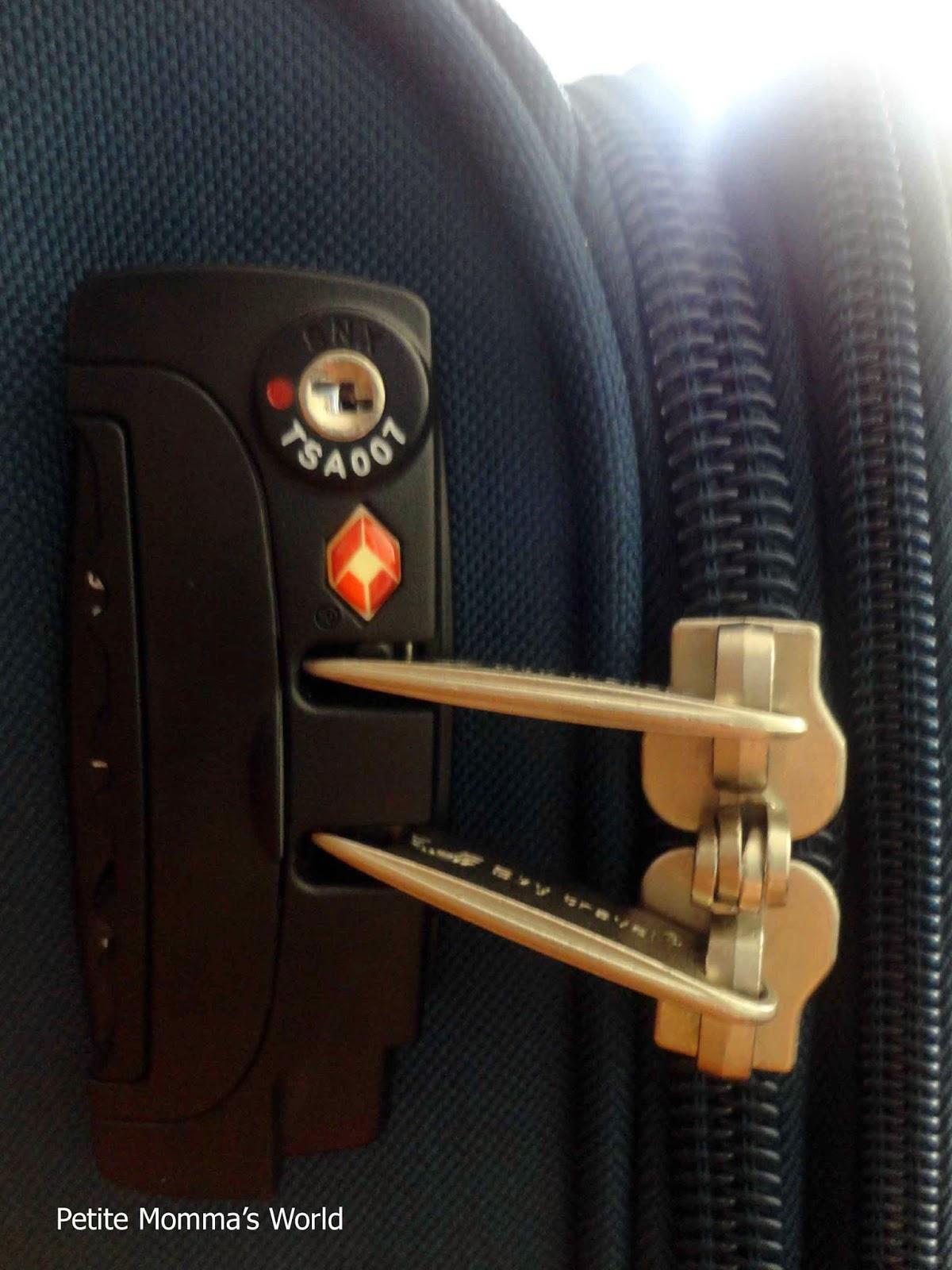Sky Travel Luggage TSA Lock