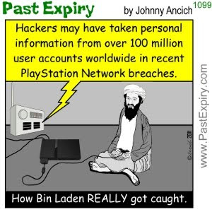 [CARTOON] Osama Bin Laden found!. cartoon, games, terrorist, internet,