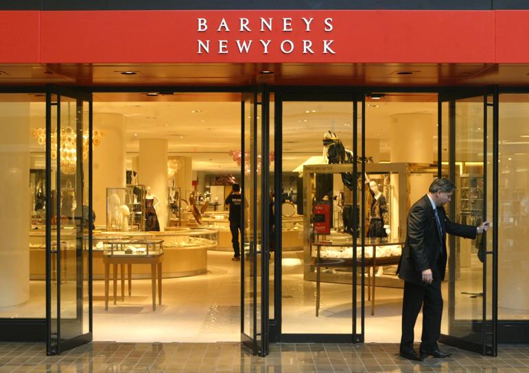 Barneys clothing store