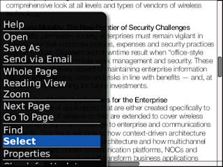 RepliGo Reader v2.1.0.1 for BlackBerry