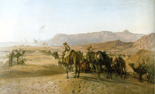 camels in american southwest