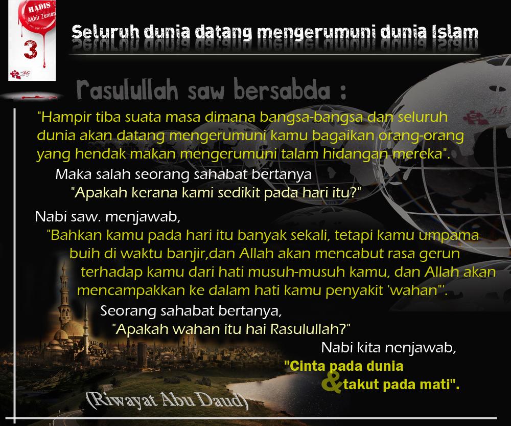 Seluruh dunia datang mengerumuni dunia Islam
