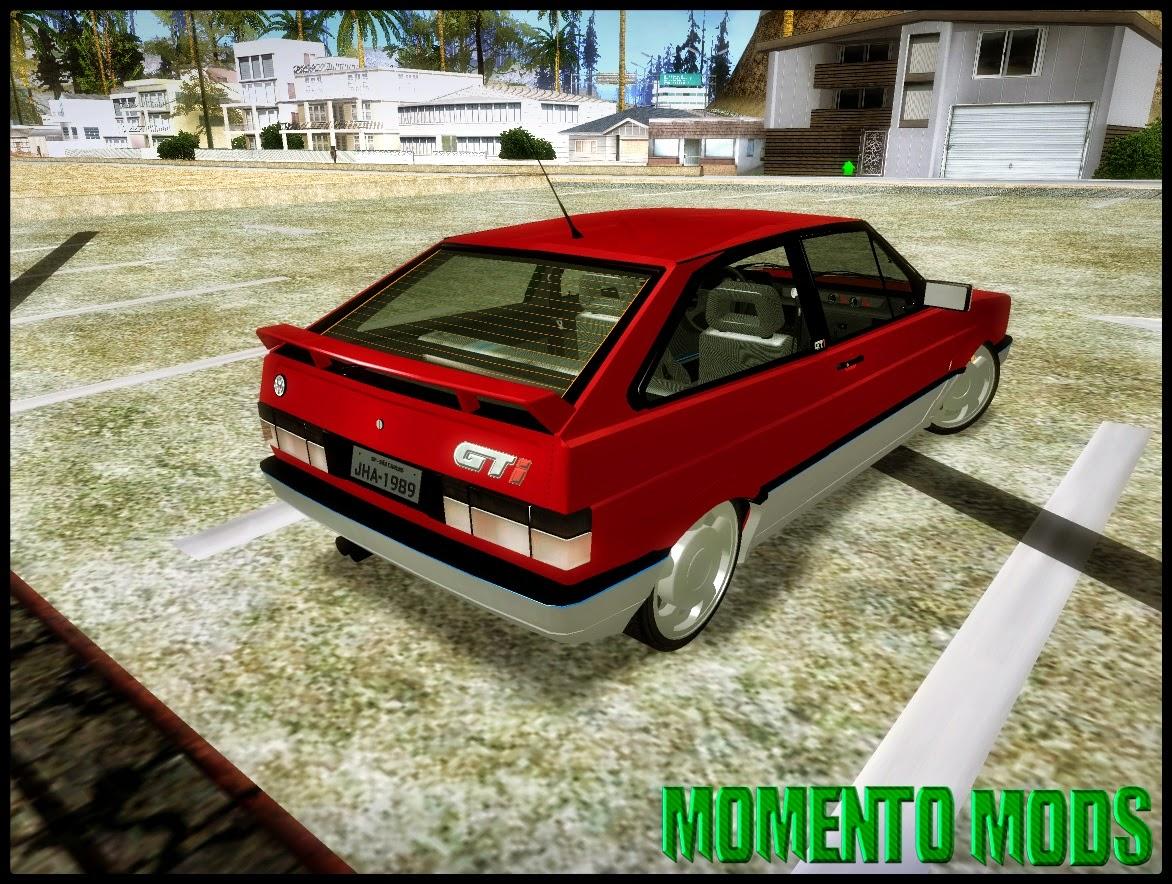 GTA SA - Gol GTI Turbo Na Fixa