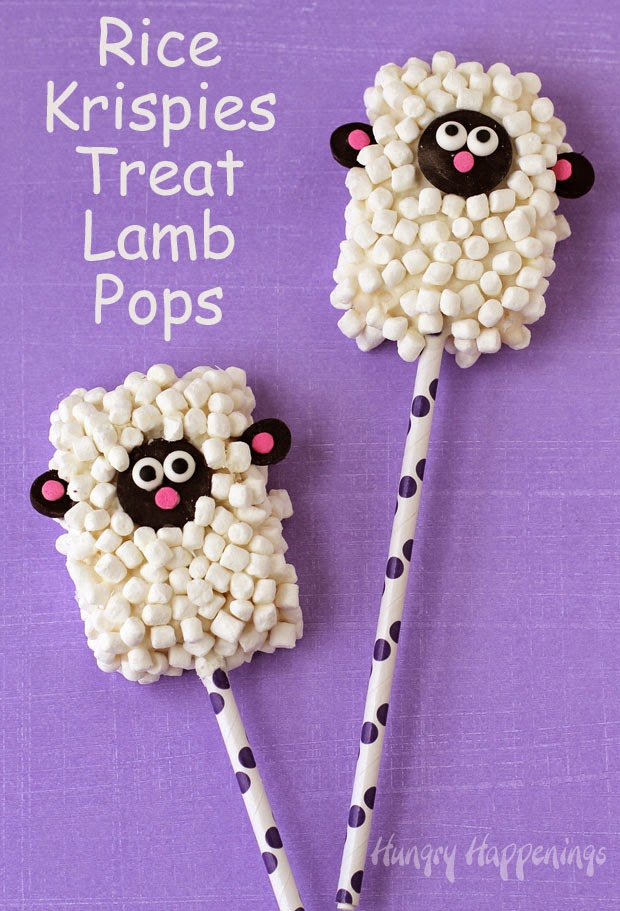 Rice Krispie Treat Easter Candies