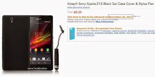 Sony Xperia Z1s case