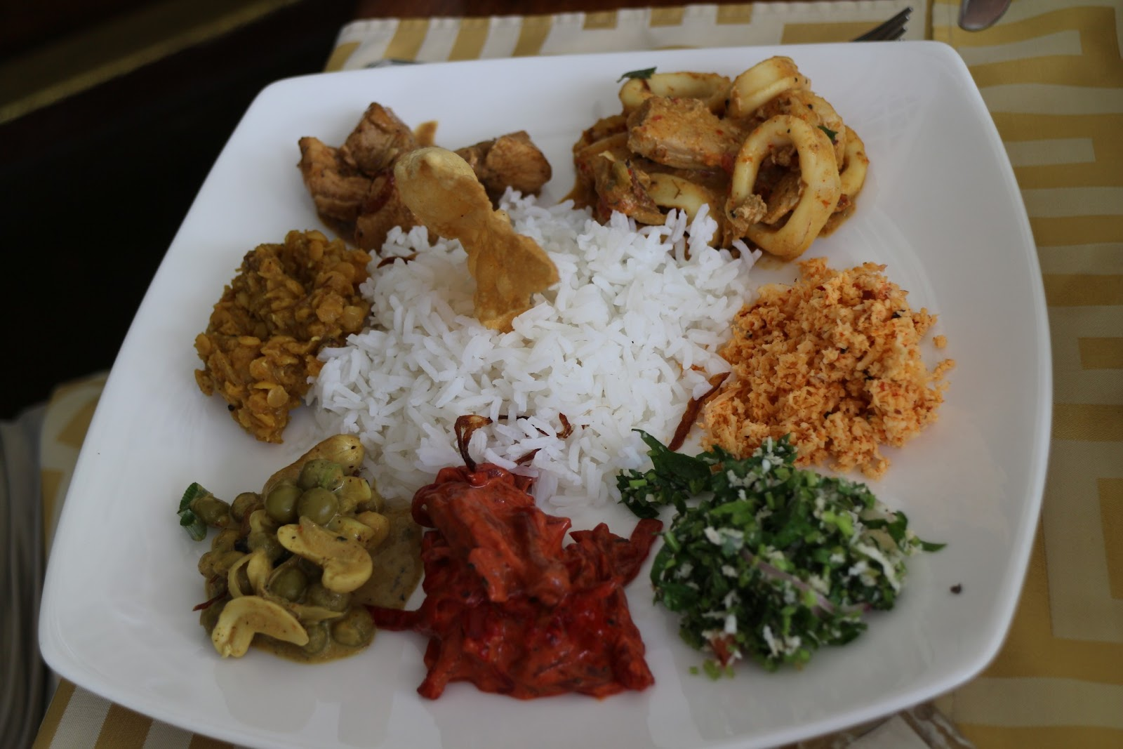 Image result for Sri Lankan Rice N' Curry Meal