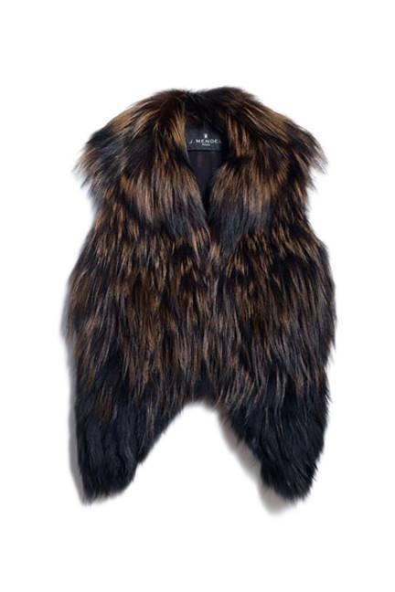 Faux Fur Vest Fashion Blog
