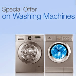 Buy Washing Machines upto Rs. 8000 off + Exchange offer from Rs. 4990 [Extra 10% off for HDFC Cards]