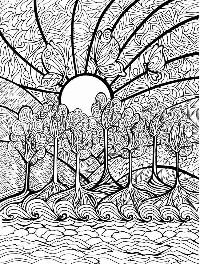 HD wallpapers cool complicated coloring pages