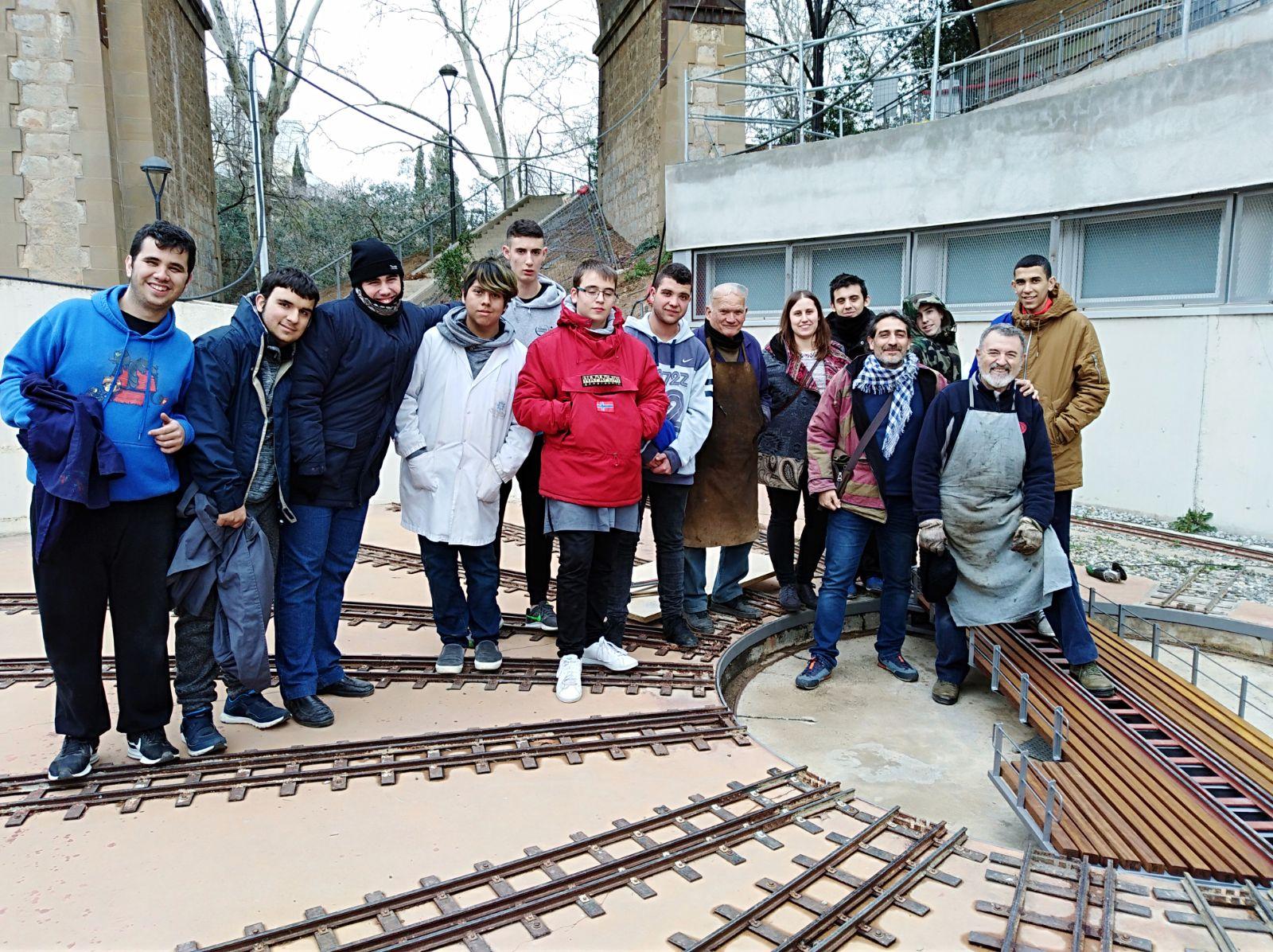 Manteniment i restauració de la placa giratòria del Tren de Vallparadís