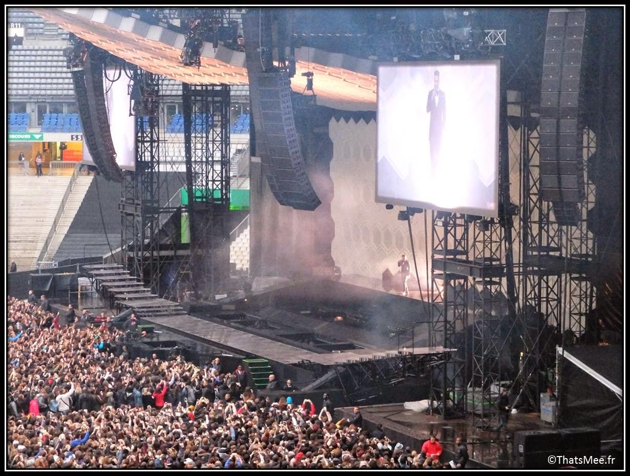Justin Timberlake scène Concert Stade de France 20/20 expreience tour live