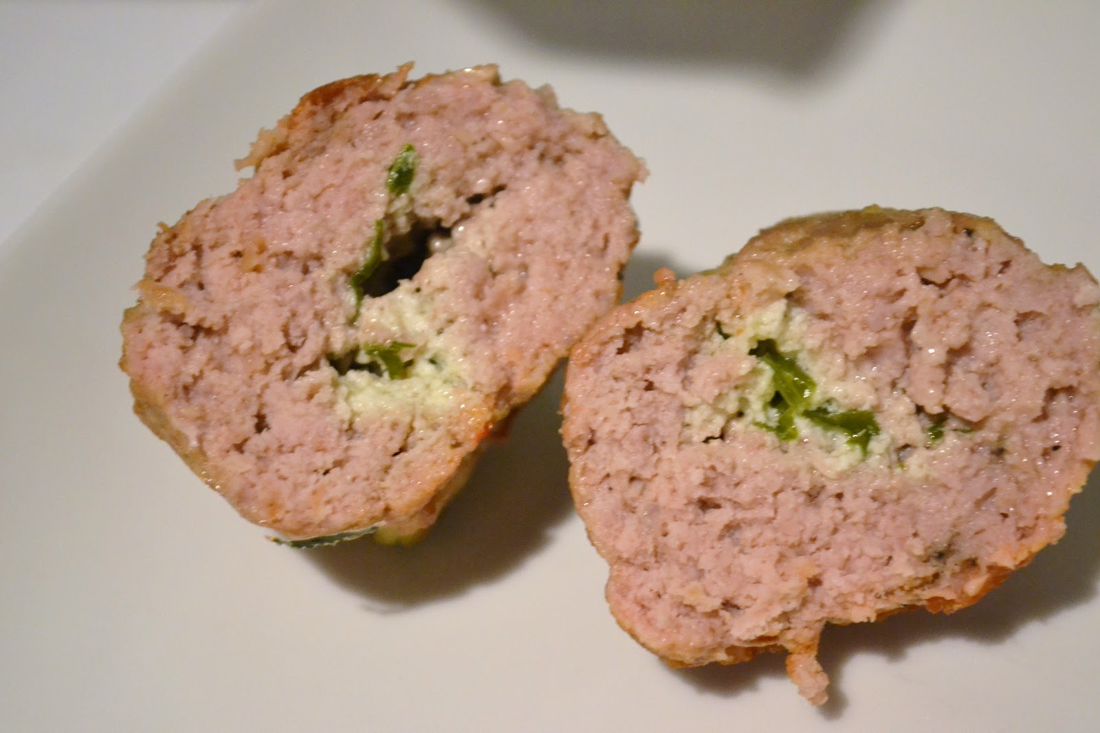 I Ate New York City: Ricotta Stuffed Veal Meatballs