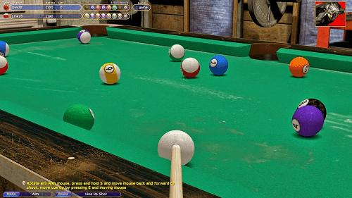 Download Game Billiard : Virtual Poll 4 PC Full Version 2