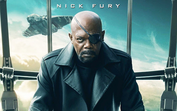 samuel l. jackson as nick fury captain america 2 the winter soldier