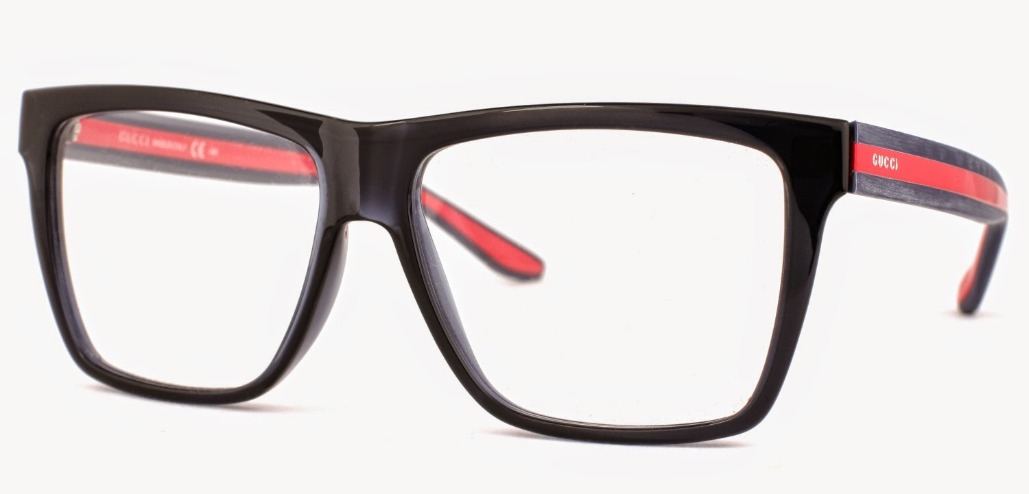 Gucci Eyeglass Frames 2014 : Gucci Blue Gray GG1008 Eyeglasses Fashion 2014 (1)