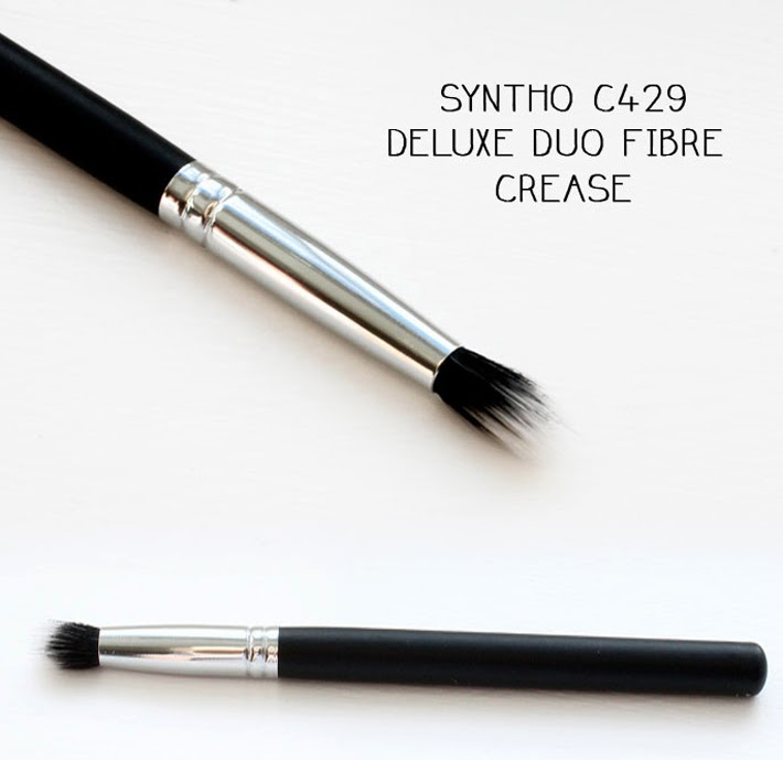 Crownbrush Syntho C429 Deluxe Duo Fibre Crease