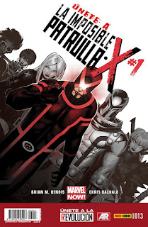 LA IMPOSIBLE PATRULLA-X # 13 MARVEL NOW !