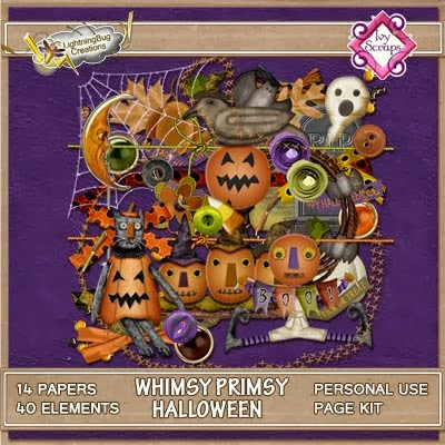 Whimsy Primsy Halloween by LBC