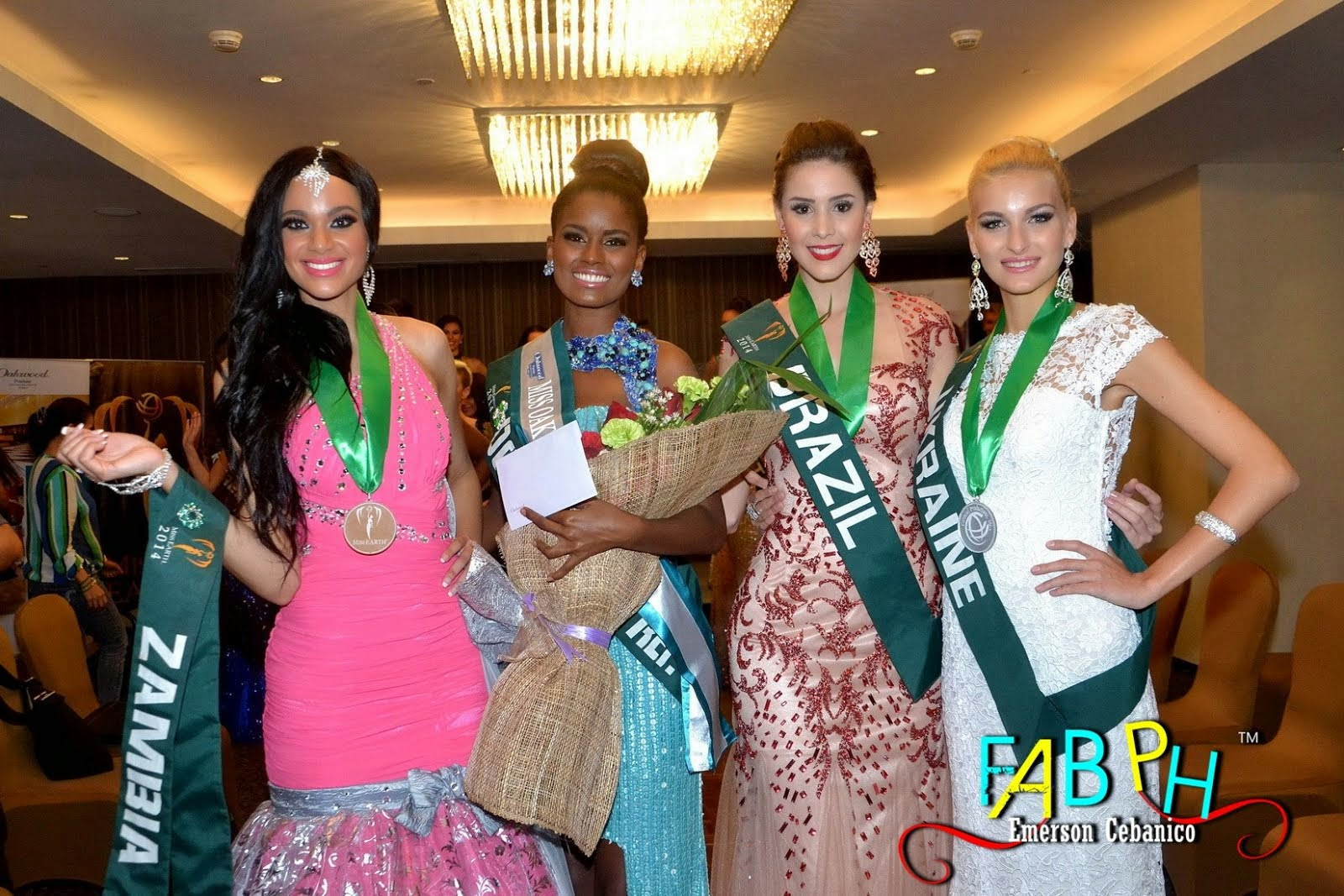Miss Earth 2014 Evening Gown Competition Group 02