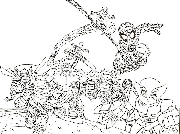 Lego Marvel Coloring Pages To Download And Print For Free: Lego Marvel Super Heroes Coloring Pages