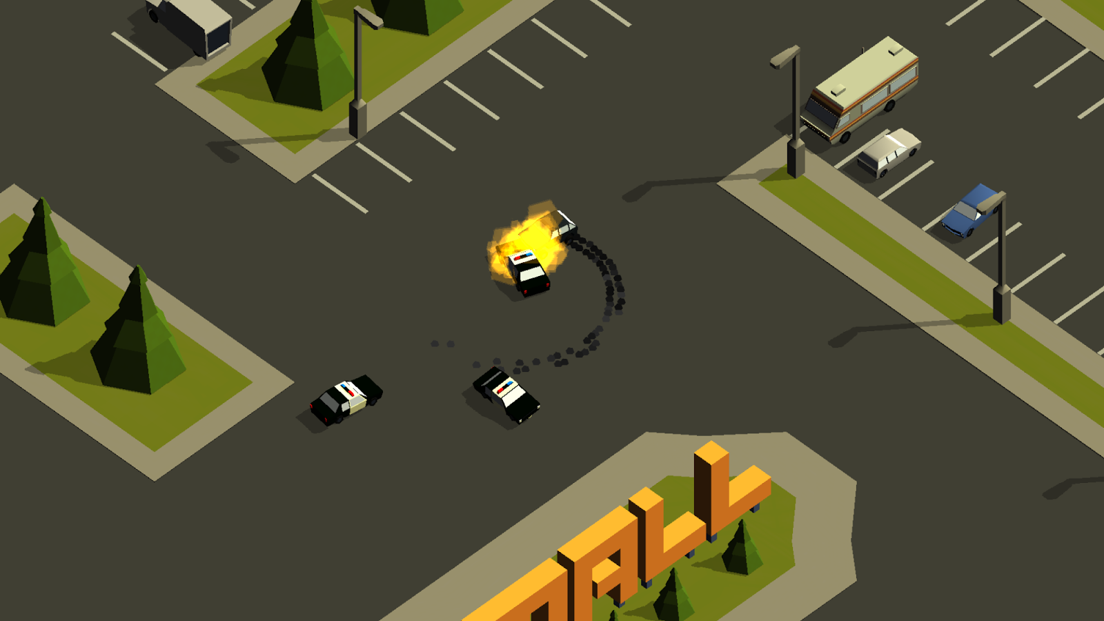 Pako Car Chase on iOS